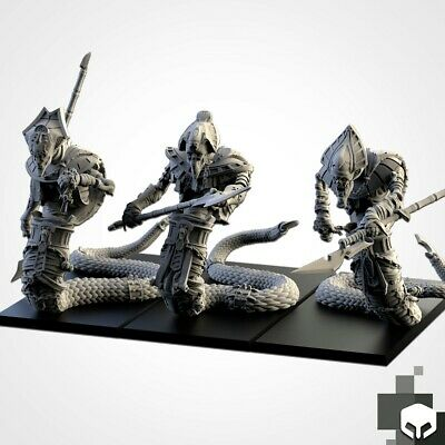 Armies Of The Sand : Sand Stalker Miniature X 3 Tomb Royalty Proxy • 20£