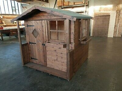 Childs Wooden Wendy House / Playhouse Cheapest On EBay For Quality Various Sizes • 370£