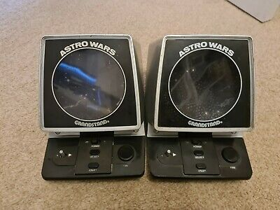 Grandstand Astro Wars Two Untested Games Please Read Description • 18£