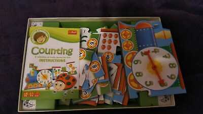 Trefl Counting A Collection Of Maths Games For Kids Age 4+ • 2.60£