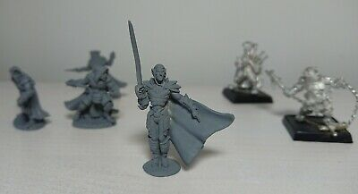 Lot Of 6 Pewter RPG Miniatures DnD, D&D, Pathfinder, Reaper Dark Haven • 4.49£
