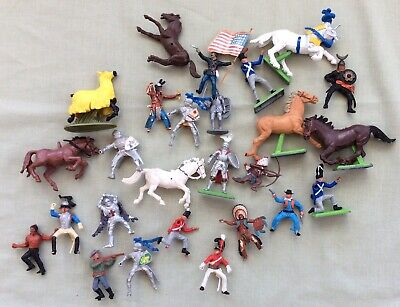 Britains Figures 26 Assorted For Spares Repairs • 10.50£