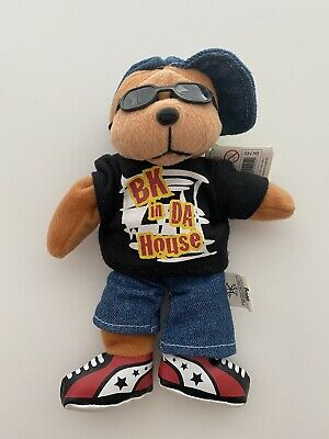 Beanie Kids, Bling The Hip Hop Bear, In Great Condition • 8.52£