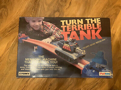 Vintage Tomy TURN THE TERRIBLE TANK GAME  ~ Excellent Working ~ 1979 • 9.99£