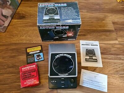 Boxed Grandstand Astro Wars Vintage 1981 Tabletop Electronic Game  • 119.99£