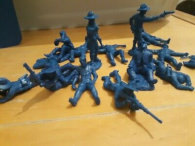 Toy Soldiers 54mm DISMOUNTED CAVALRY CASUALTIES (1/32 Scale) Plastic • 10.60£