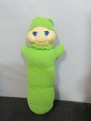 Vintage Hasbro 1982 Original Glo Worm Green Light Up Toy Glow WORKS • 57.92£