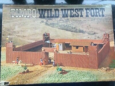 Timpo Wild West Fort - Timpo Toys - Model Toys - Vintage Toys • 41£