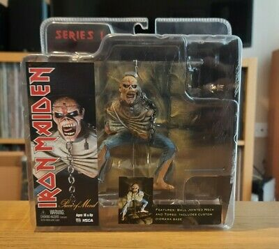 Iron Maiden Piece Of Mind Neca Action Figure (Series 1 / Rare / Boxed) • 50£