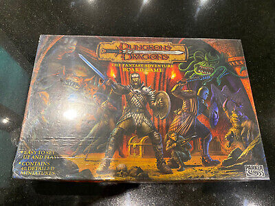 New Dungeons & Dragons The Fantasy Adventure Board Game By Parker 2003 • 37.48£