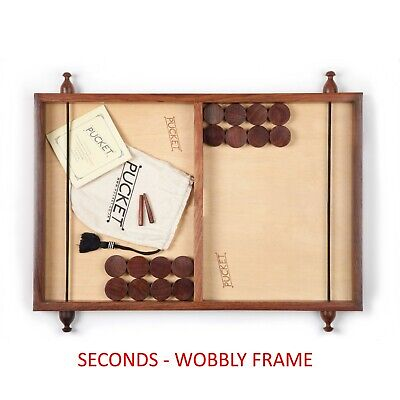 Pucket Game Seconds Quality Wonky Frame • 29£