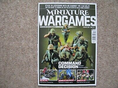 Miniature Wargames Issue 454 February 2021 • 5£