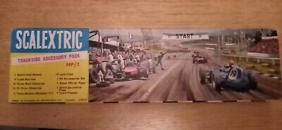 Vintage Scalextric Job Lot Trackside Accessories 1960s • 6.50£