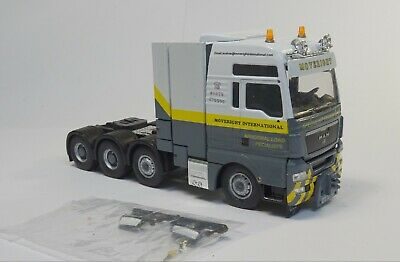 -  Moveright   -  MAN  - Code 3 - Truck - Lorry - 1:50 • 105£