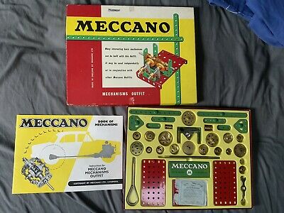 Meccano Mechanisms Outfit - 1959 • 80£