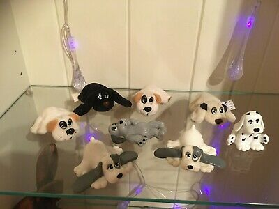 Vintage Pound Puppies 1990s Mini Small Puppies Galoob Toys Plastic Cereal Figure • 4.59£