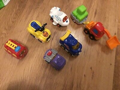 Collection Of 6 Toot Toot Vehicles, Plane, Quad, Racer And More • 10£