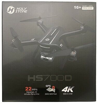 Holy Stone HS700D FPV Drone With 4K UHD Camera Live Video  Brand New Sealed • 100£