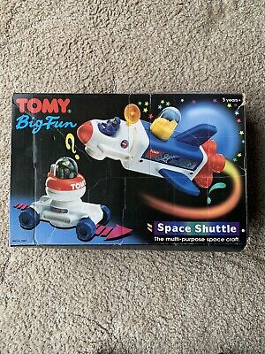 TOMY Big Fun Space Shuttle Set - Complete • 15£