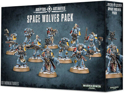 Warhammer 40k Space Wolves Wolf Pack - Multi Choice Bits • 0.99£