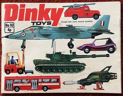 Dinky Toys Catalogue Number 10 • 9£