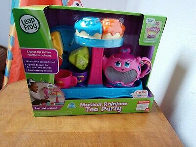Leapfrog Musical Rainbow Tea Party • 7.50£