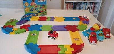 VTech Baby Toot-Toot Drivers Deluxe Track Set,full Set 30 Pieces Plus Extras • 8.50£