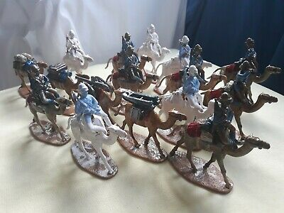 Egypt & Sudan British Camel Corps 1882 54mm (1/32 Scale) Plastic • 1£