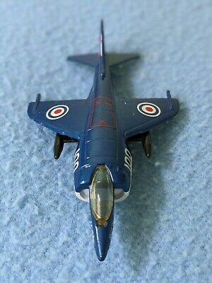 Matchbox Skybusters - Vintage Diecast Aircraft SB24 Harrier - Unboxed • 3.20£