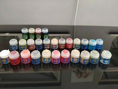 Bundle Of Warhammer Citadel Paint And Base Paints Big And Small, New Not Opened • 50£