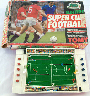 Tomy Electric Super Cup Football Game 1980s Spare Base Boxed (see Description) • 25£