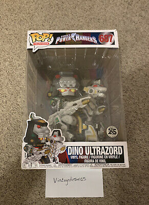"Funko POP! 687 10"" Power Rangers Dino Ultrazord Exclusive Vinyl Figure • 42£"
