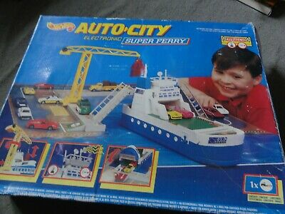 Hotwheels Mattel Auto City Electronic Super Ferry Play Set • 50£