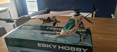 E-Sky Honey Bee Radio Controlled Helicopter 2.4ghtz 3 Batteries & Controller  • 60£
