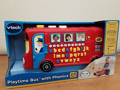 Vtech Playtime Bus With Phonics • 5.20£
