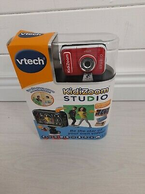 VTech KidiZoom Studio Red Video Camera For Children With Fun * See Description * • 44.99£