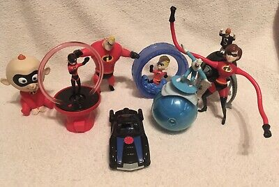 McDonalds Happy Meals Toys - The Incredibles Full Set 2004 - Disney Pixar • 12.50£
