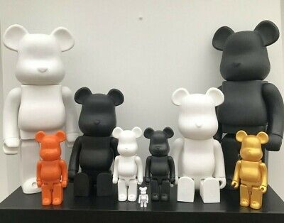 Bearbrick Figure Ornament Statue PopArt Toy Collection 400% 700% 1000% UK SELLER • 13.99£