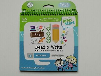 Leapfrog Read & Write Activity Book LeapStart System Reading Toy Level 2 SeeInfo • 5.50£