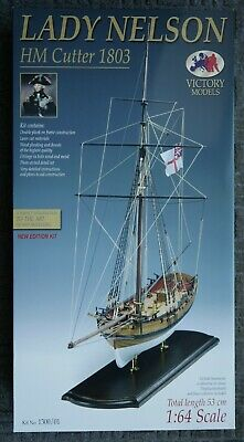 Ship Lady Nelson, Scale 1:64 Wooden Model Boat Kit , Complete New . • 99£