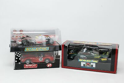 2x Scalextric Model Cars Vodafone Mclaren Mercedes & Ninco Model Racing Car • 29.99£