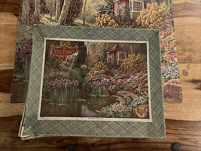 Rare Wooden 1940s Victory 450 Piece Jigsaw Puzzle The Old Summer House • 30£