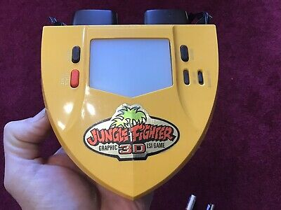 Tomytronic 3D Jungle Fighter Mega Rare 1980s LCD 3D Game , Fully Working. • 180£