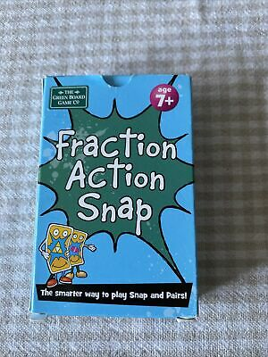 Fraction Fundamentals Snap And Pairs Card Game - Educational Game For Children • 5.50£