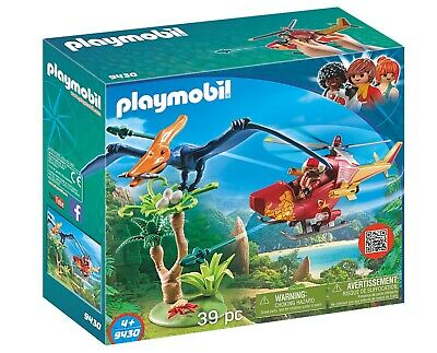 Playmobil 9430 Dinos Adventure Copter With Pterodactyl • 17.49£