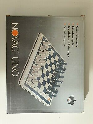 Novag Uno Chess Board - No Pieces • 16£