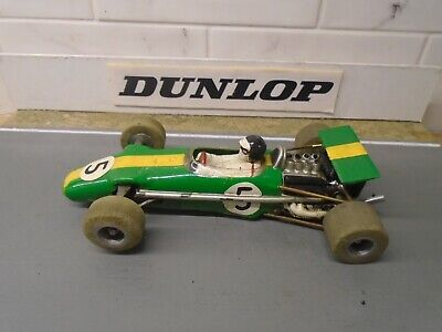 1960's 1/24 Lotus 49 - Lancer? Body With Nice Scratch Built Chassis - Cox Revell • 7.50£