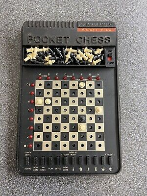 Vintage Saitek Kasparov Pocket Plus Trainer Electronic Chess Set • 5£