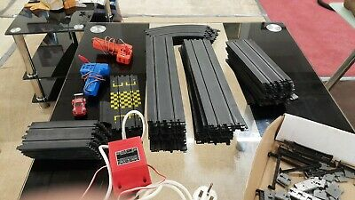 Matchbox Scalextric Track Pieces  And Power Unit • 2.99£