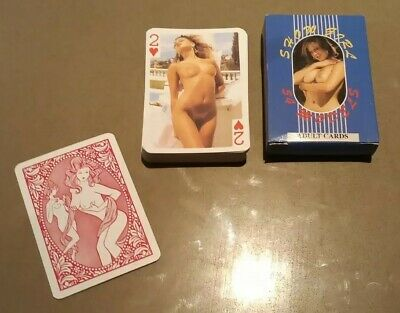 'Show Girl 54 Models' Adult Playing Cards • 20£